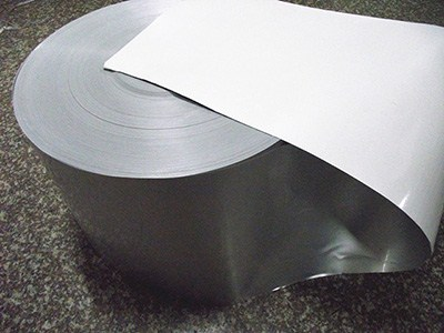 Roll lining material induction seal ,one piece type
