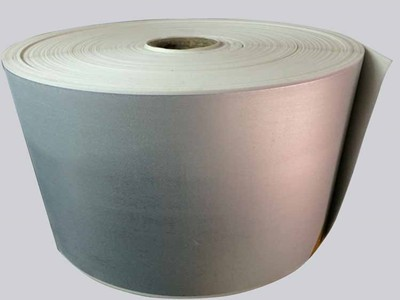 Roll lining material induction seal ,two piece type